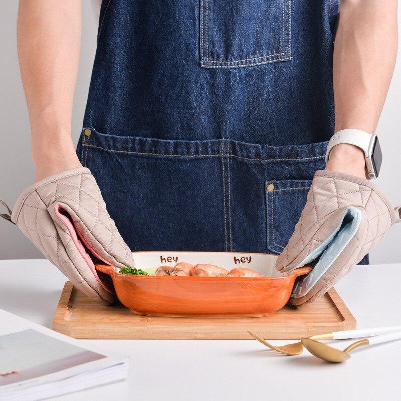 כפפות סיליקון לתנור מושלמות נגד חום להחזקה נוחה 4