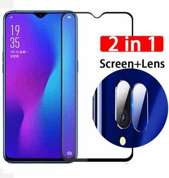 Перейти на Алиэкспресс и купить 2 в 1 закаленное стекло на экран для Vivo Y11 2019 Y12 Y17 Y 12 17 112019 Y112019 объектив камеры закаленное стекло HD защитная пленка
