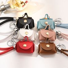 Creative Coin Purse Keychain Car Key Ring Female Bag Pendant Jewelry Chains Holder Organizer
