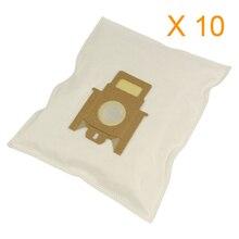 10 adet Hoover tipi H60 H30 H52 ENIGMA TE7 TE70 TEN2400 ARIANNE TELIOS toz filtre torbası T2100 T2599 T2615 T2621 T2740 t2760