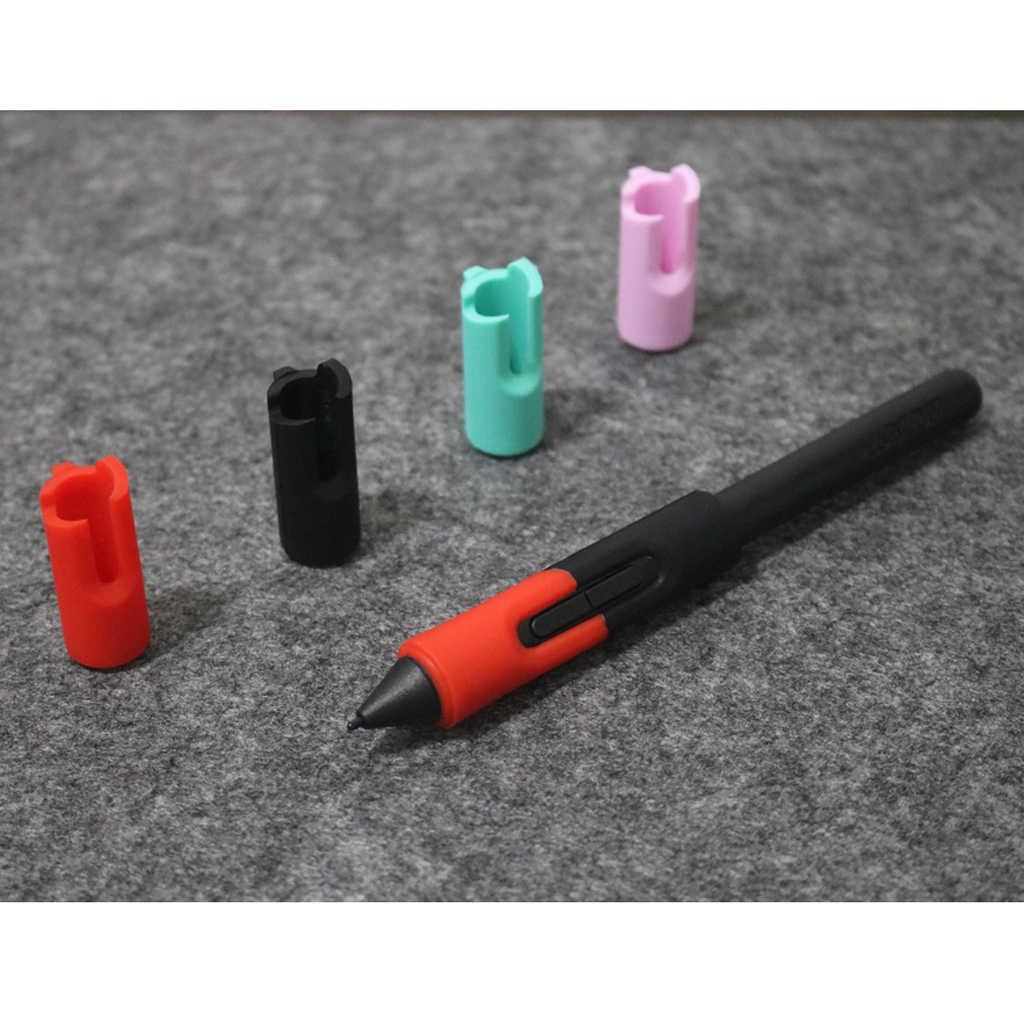 حامل قلم عالمي مقبس غطاء القلم قبضة ل Wacom اللوحي القلم LP-171-0K ، LP-180-0S ، LP-190-2K ، LP-1100-4K