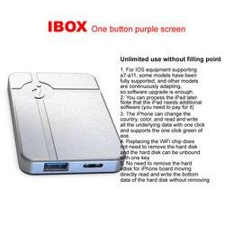 IP iBox Keine Demontage Erforderlich Festplatte Lesen Schreiben Ändern Seriennummer für IPHONE A7 A8 A9 A10 A11 Programmierung für ipad