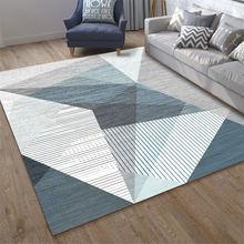 Living room carpet non slip bathroom rug washable kitchen mat
