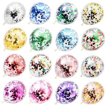 10 шт 12 дюймов Смешанные конфетти латексные воздушные шары на день рождения, вечерние свадебные туфли, на Рождество, украшение для дома шар Baby Shower воздушные шары Globos Воздушные шары и аксессуары      АлиЭкспресс