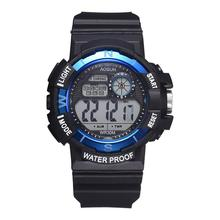 child Watches Men 30M Waterproof Electronic LED Digital Watch Men Outdoor Mens Sports Wrist Watches Stopwatch Relojes Hombre outdoor life waterproof watch fashion digital wrist watches mens hot sale military wristwatch sports men led electronic watch