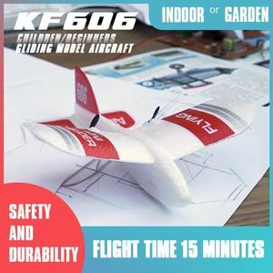 KF606 RC самолет летающий самолет EPP планер из пеноматериала Игрушечный Самолет Rc 2,4 Ghz 15 Minutes Fligt Time самолет из пеноматериала игрушки для детей П...