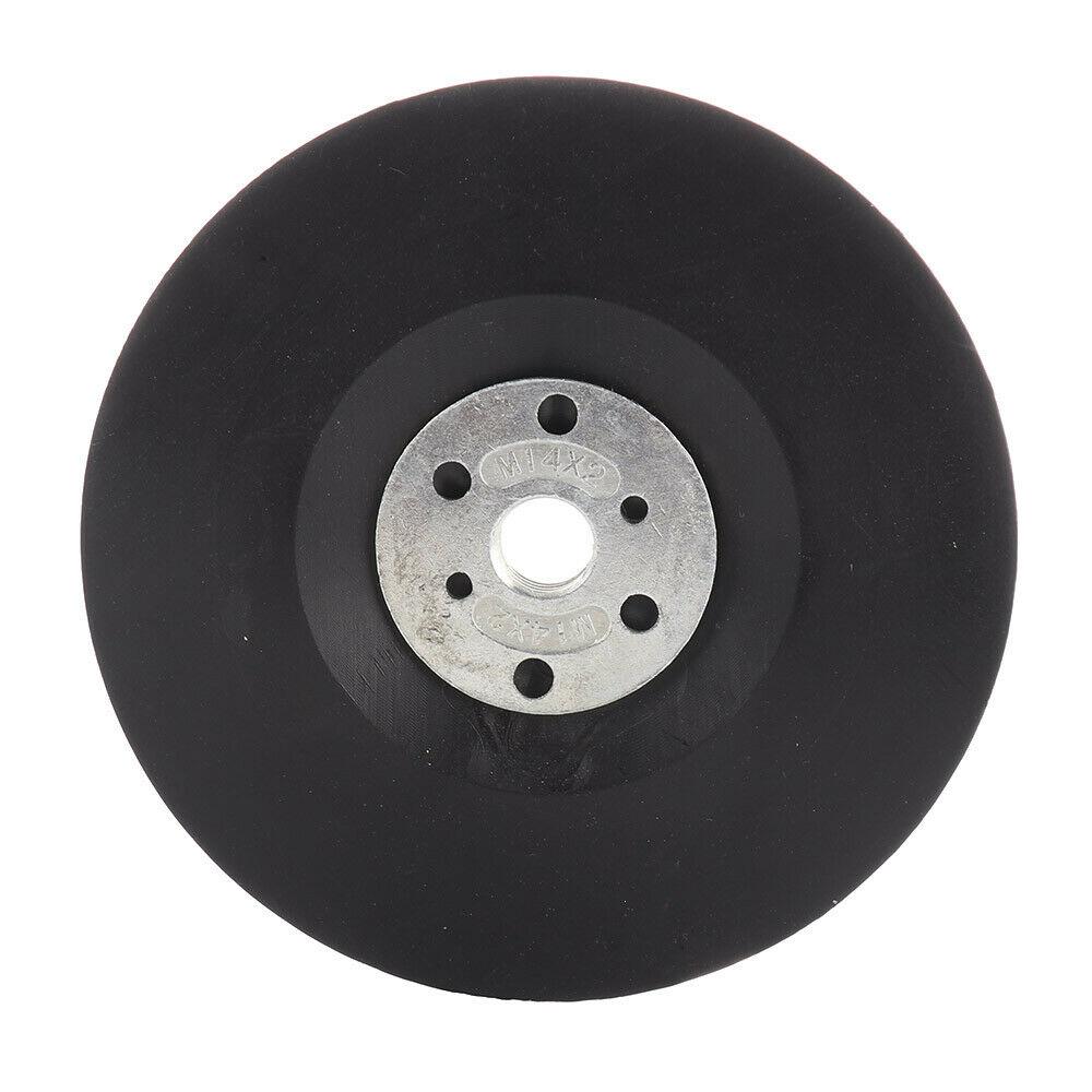 Plastic 5-inch 125mm Angle Grinder M14 Back Pad Polishing For Fiber Sand Disc Sander Disc Abrasives For Polish Machine