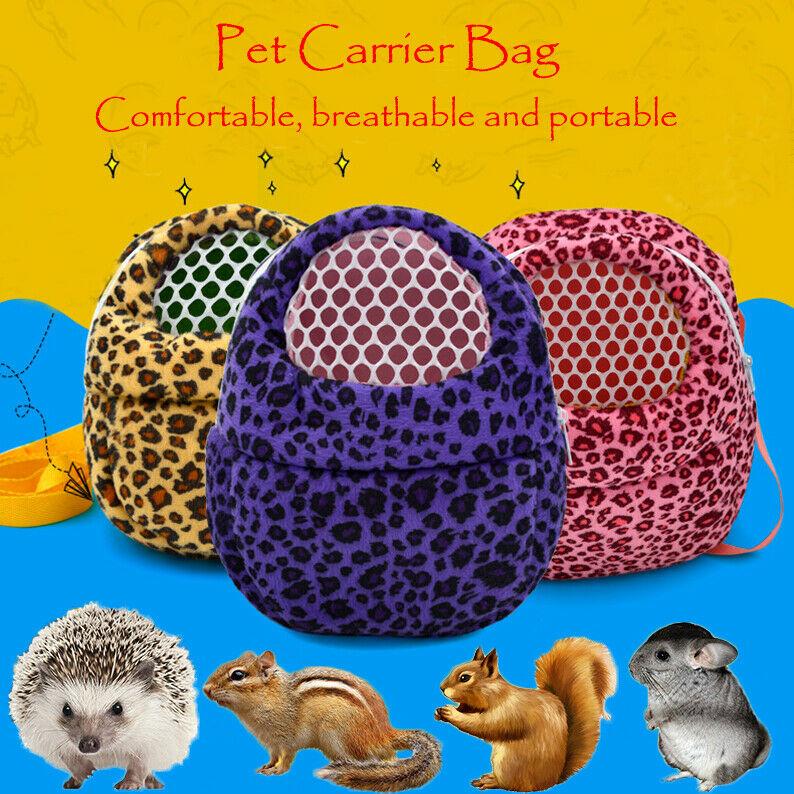 Dropshipping Hot Sale Small Pet Carrier Pocket Hamster Rat Cat Hedgehog Rabbit Ferret Sleeping Travel Bag High Quality