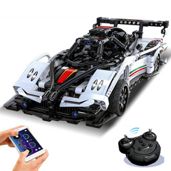 APP Technical RC Car MOC Building Blocks Speed champions Super Racing Model Bricks Children Toys Boyfriend Gift for Adult gfit