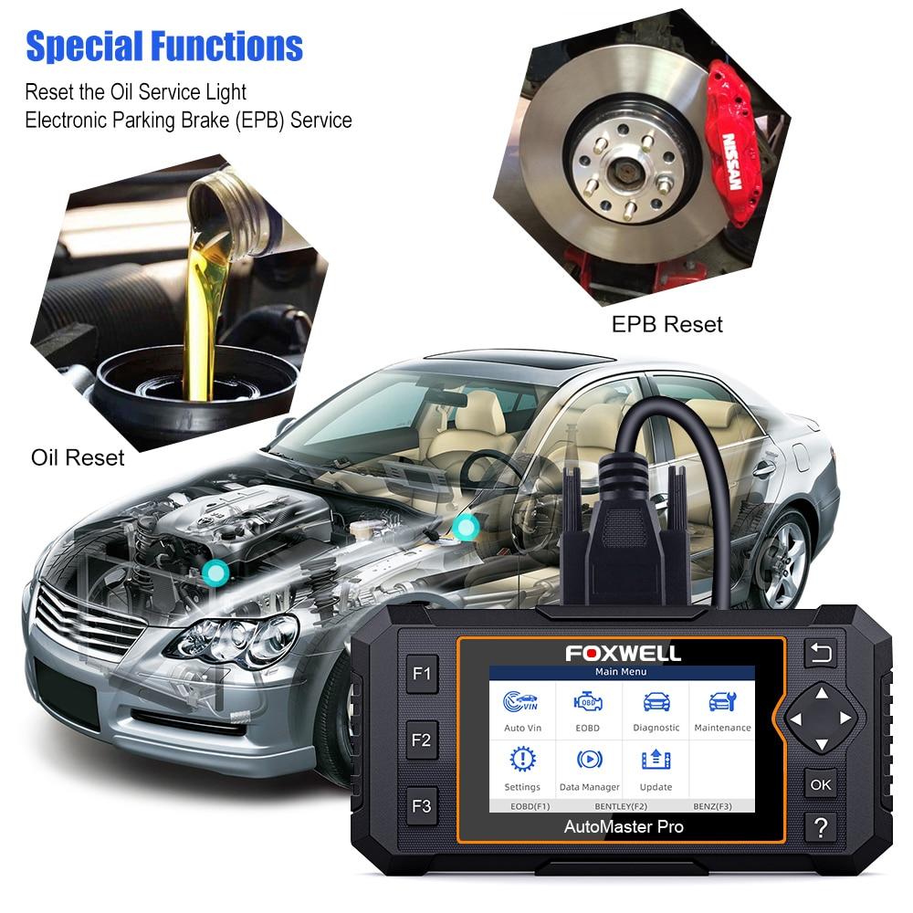Foxwell NT624 Elite OBD2 Auto All System Diagnostic Tools