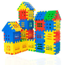 Конструктор строительные блоки пластиковые соединяющиеся игрушки