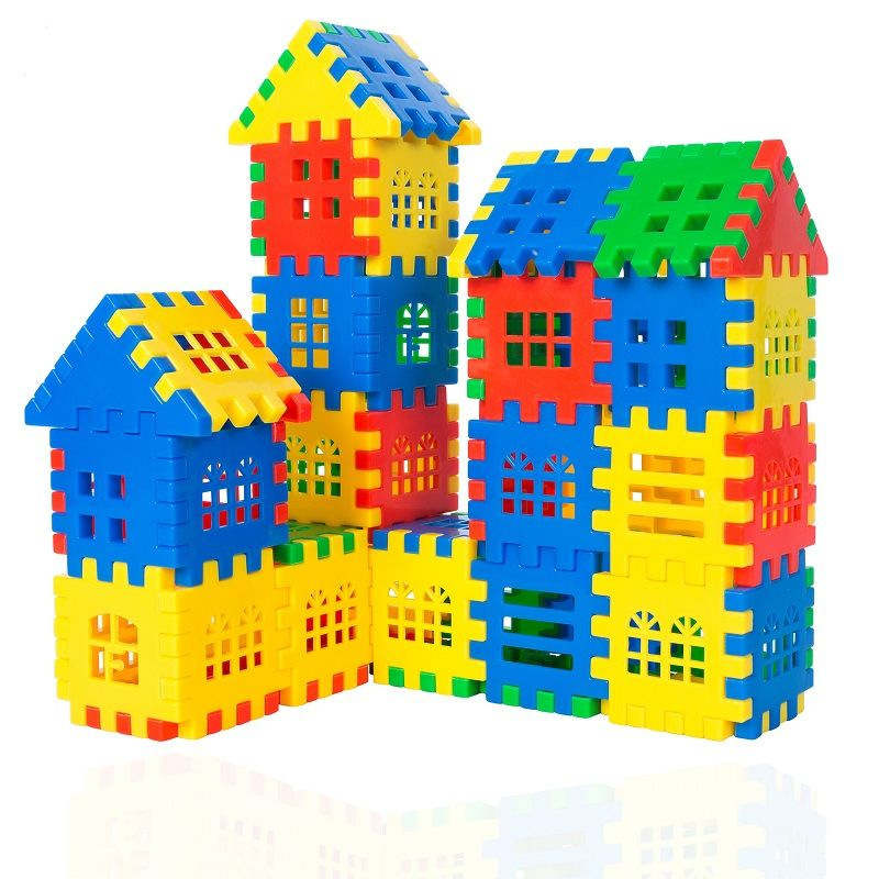 Constructor Building Blocks Plastic Brick Interconnecting Blocks Construction Toys For Kids Gifts