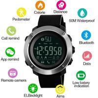 SKMEI coppia uomo Smart Watch calorie orologi Bluetooth calorie promemoria chiamate orologio digitale impermeabile reloj hombre 1285 1287