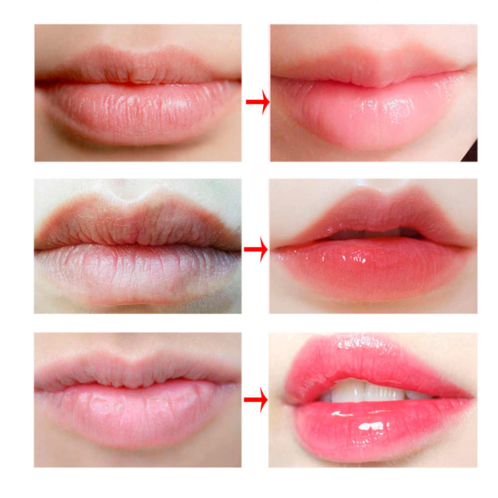 LANBENA Lip Plumper Lip Mask Plant Flower Extract Scrub Lip Oil Pink Lips  Balm Nourish Lips Mask Sleeping Lip Masks Cream Film|Lips| - AliExpress