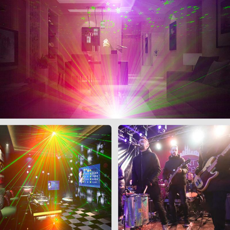 dj discoteca palco lampadas rgb 60 led 04