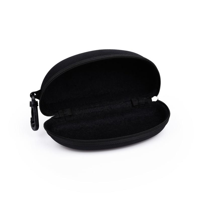 Neweekend New Glasses Case EVA Zipper Case Explosion Model Fashion Black Hook Sunglasses Case Compression Sunglasses Box For 071