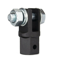 Scissor Jack Adaptor 1/2 Inch for Use with 1/2 Inch Drive or Impact Wrench Tools IJA001