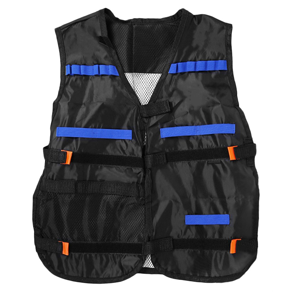 LESHP Tactical Vest Nerf Vest For Nerf N-Strike Elite Games Outdoor Hunting Adjustable