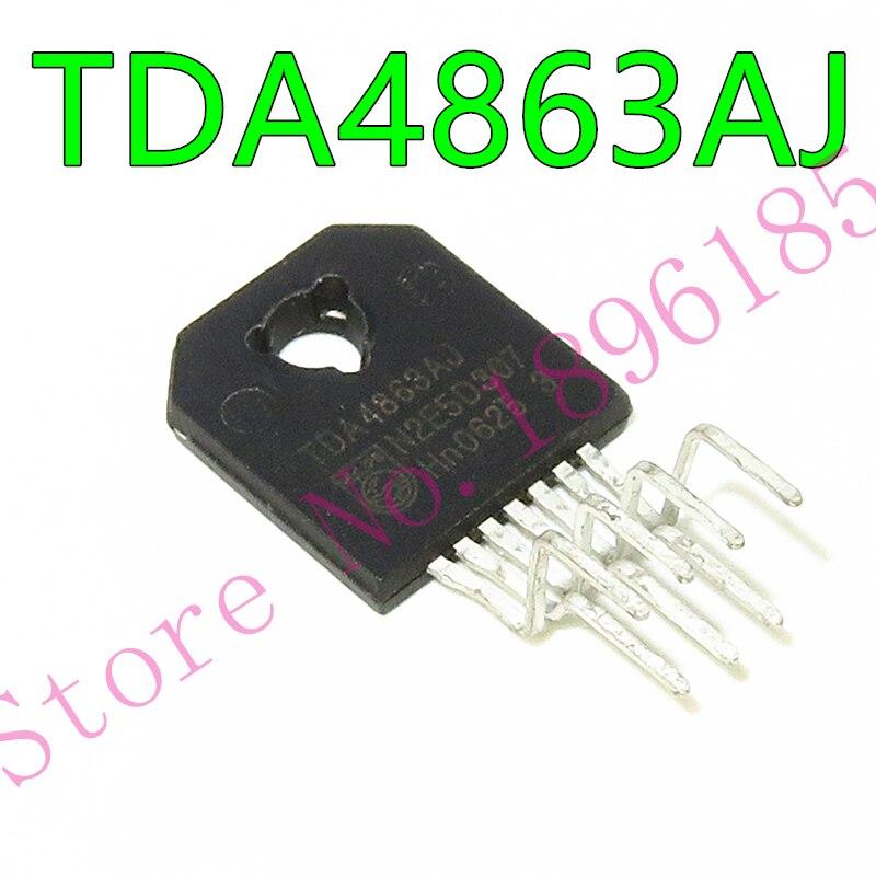 1pcs/lot TDA4863AJ TDA4863J ZIP-7 In Stock Vertical deflection booster