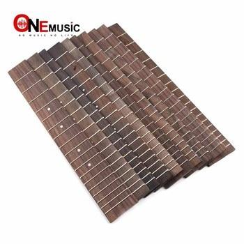 10pcs Rosewood Ukulele Fingerboard for 26 Ukulele with 3mm Dot 18 Fret Rosewood UK Fretboard Ukulele Parts фото