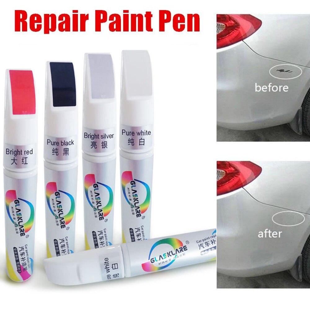 1*Car Paint Repair Pen Scratch Remover Touch Up Clear Coat Applicator Fix Tools