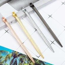 Kawaii металлические шариковые ручки cobra роскошные для письма