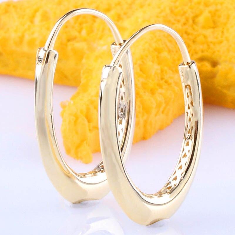 Original brilho dourado chunky brinco argola em forma de coração para mulher 925 prata esterlina brinco presente de casamento diy europa jóias