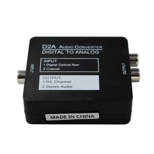 Image 4 - Digital to Analog DAC Audio Converter Optical Coax RCA Toslink Audio Sound Adapter Switch SPDIF decoder for Xbox 360 DVD