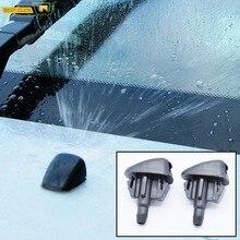 2 pièces/ensemble essuie-glace avant lave-glace buses Jet Spray pour Mazda hommage 3 BL 6 GH pulvérisateur d'eau OE # EC01-67-50YA