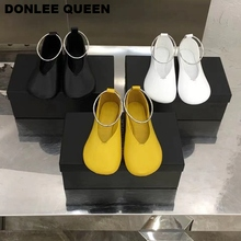 2019 Brand Flats Casual Shoes Women Flat Ballet Slip On Casual Loafers Round Toe Female Ballerina Metal Ring Shoes Zapatos Mujer 2017 summer spring women ballet flats round toe slip on shoes woman flower bowknot loafers vintage zapatos mujer canvas