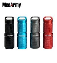 MecArmy X4S 2 모드 USB 충전식 슈퍼 미니 키 체인 손전등 10180 배터리