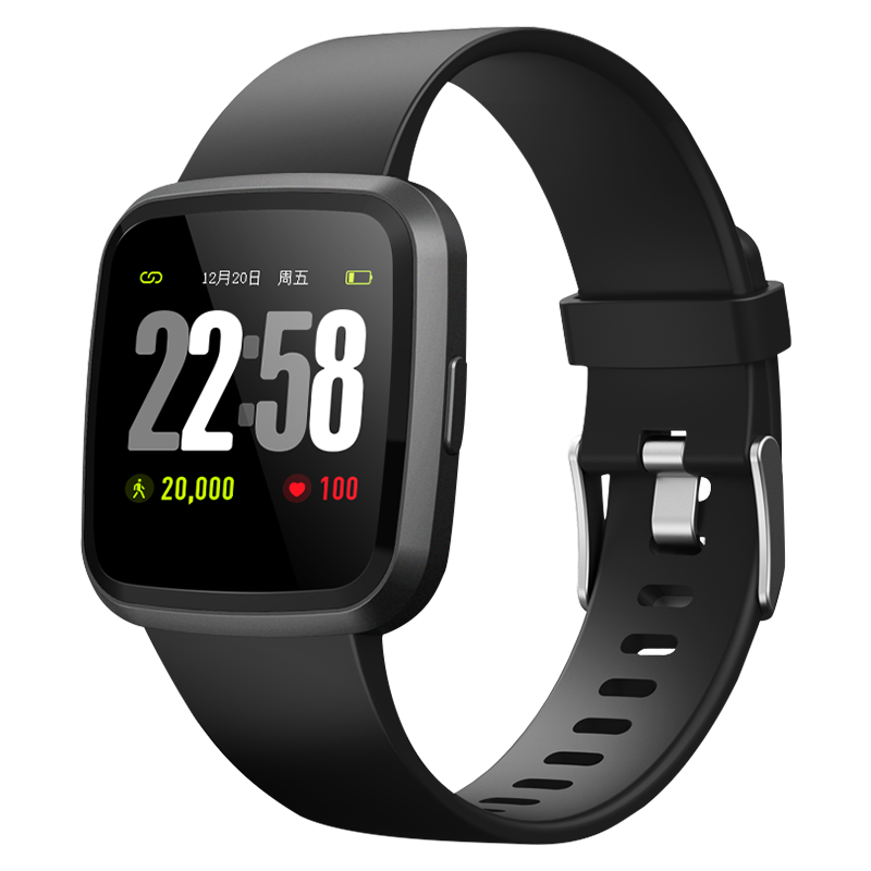 Smart Watch Men  Bluetooth Band with Heart Rate Monitor Blood Pressure Fitness Tracker Wrisatband Color Screen Smart Bracelet