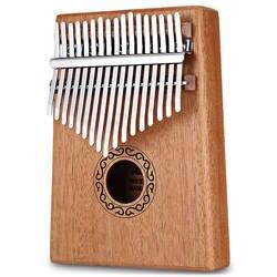 W-17 T 17 Keys Kalimba «пианино для больших пальцев» высокое качество дерево красное дерево корпус музыкальный инструмент с обучающей книгой