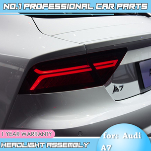 Image 3 - Auto Accessoriestail Licht Voor Audi A7 Achterlichten 2011 2017 Led achterlicht Achterlicht Moving Richtingaanwijzer achterlicht