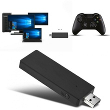 PC Wireless Adapter USB Receiver For Microsoft XBOX ONE Wireless Controller Adapter PC Receiver for Windows 7/8/10 Adapter alloyseed for xbox 360 wireless controller gamepad pc adapter gaming usb receiver for microsoft xbox 360 console with cd drive