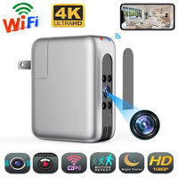 Wireless WiFi Plug Camera USB Charger micro camera Secret Camcorder 4K FHD Night Vision Motion Detect Security Video Recorder