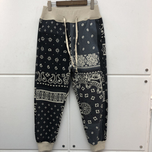 2021fw KAPITAL Woman Sweatpants Streetwear Heavy Fabric Joggers Drawstring Pants Cashew Flower Trousers Men Clothing