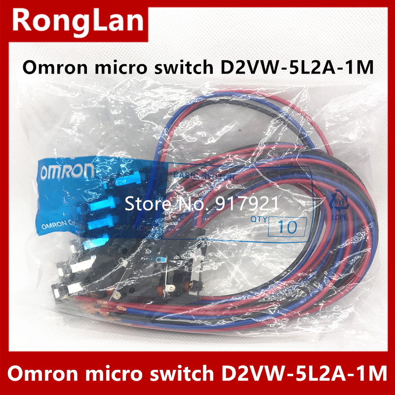 ONE NEW OMRON D2VW-5L2A-1M