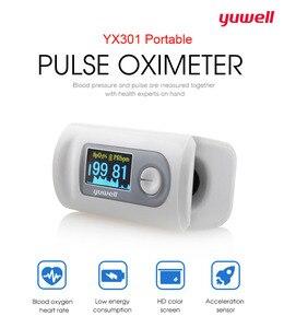 Yuwell Пульсоксиметр Тип пальца оксиметрический импульсный детектор Портативный ЖК-дисплей монитор крови Oximetro De Dedo медицинское оборудование