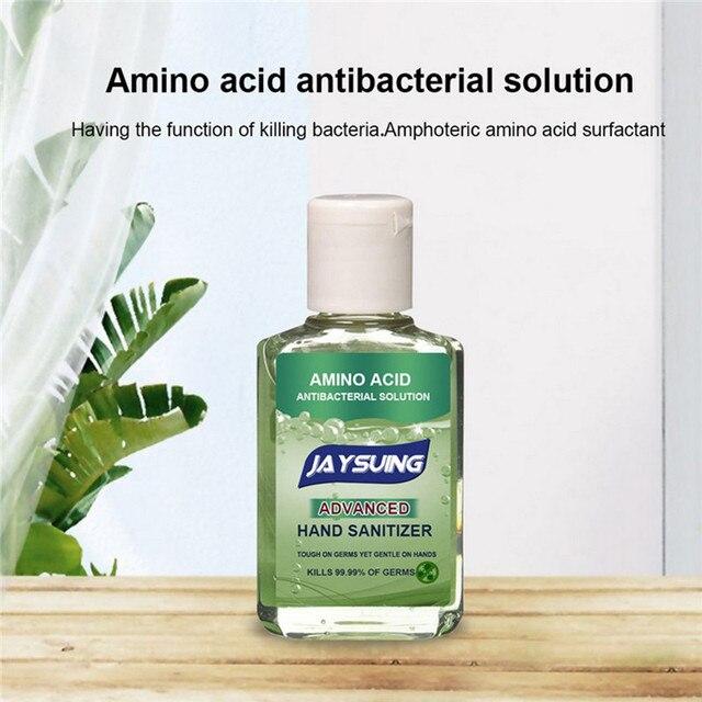 60ml Portable Alcohol Gel Hand Sanitiser Gel Hand Cleaning Gel Disposable Antiseptics Moisturizing Antibacterial Liquid No Wash 1