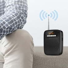 15W Lightweight Portable Rechargeable Mini Voice Amplifier with Headset Micropho 97QB