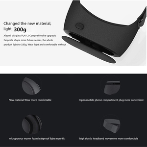 Image 4 - Original Xiaomi VR Play 2 Virtual Reality 3D Glasses Headset Xiaomi Mi VR Play2 for 4.7  5.7 Phone With Cinema Game Controller
