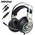 Mpow EG3 Pro Gaming Headset Surround Sound Über Ohr Kopfhörer mit Noise Cancelling Mic Kopfhörer für iPad PS4 PC Laptop tablet
