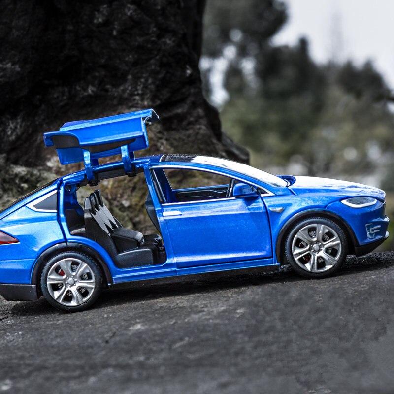carrinho de brinquedo tesla 132 modelo s 04