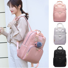 Waterproof Laptop Backpack Female Fashion Girl 13 13.3 14 15 15.4 15.6 inch Back pack Women Oxford Both Shoulders Bag