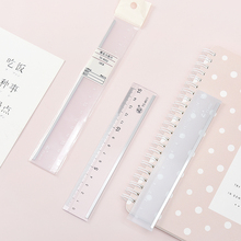 15-18CM New Cute ruler Kawaii Study Folding Ruler Multifunction DIY Drawing Ruler For Kids Students Office School Stationery