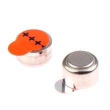 10 baterias a13 13a za13 13 pr48 1.45v avançadas do aparelho auditivo das baterias do aparelho auditivo do ar do zinco dos pces bateria da pilha do botão do cuidado da orelha de cic