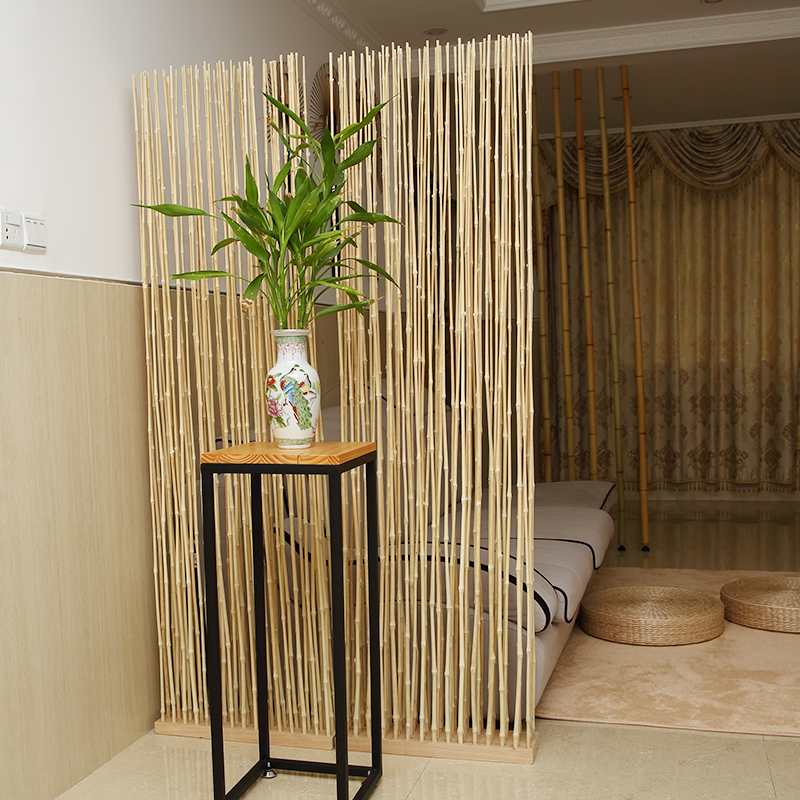 room divider screen freestanding customized privacy personal space display home decoration portable bamboo screens room divider