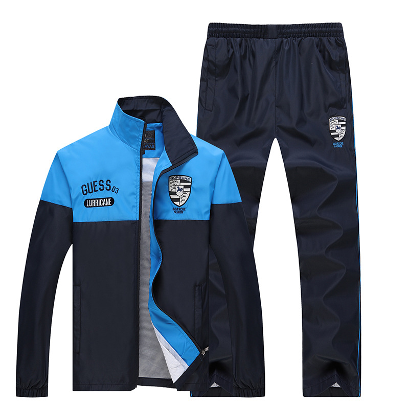 Spring And Autumn Casual Sports Couples Set Long Sleeve Men And Women Students Class School Uniform Running Coat Group Clothes