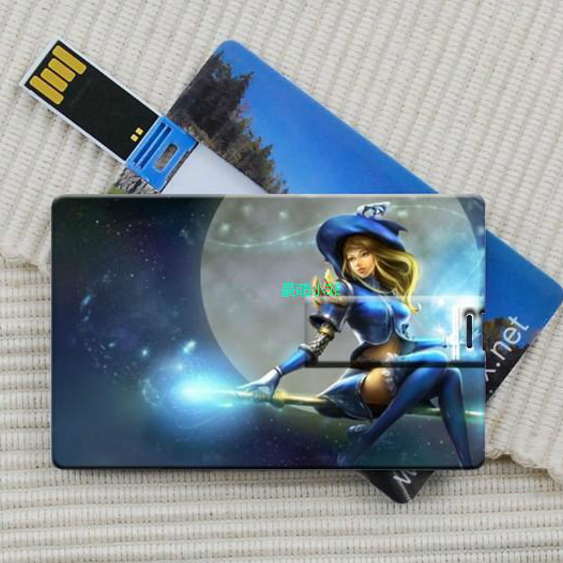 4gb 8gb 16gb 32gb Wholesale 1PCS Customized Credit Card Usb Flash Drive DIY Picture Logo Business &Holiday Gift Usb Flash Drive image